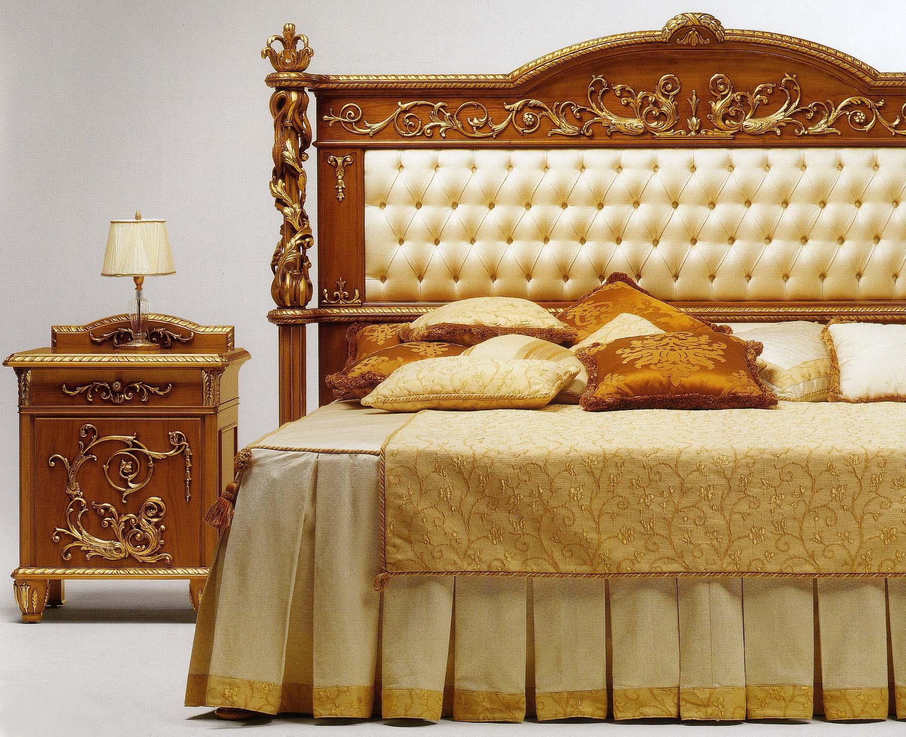Camera da letto impero demetra esposizione artigiani for Stile impero arredamento